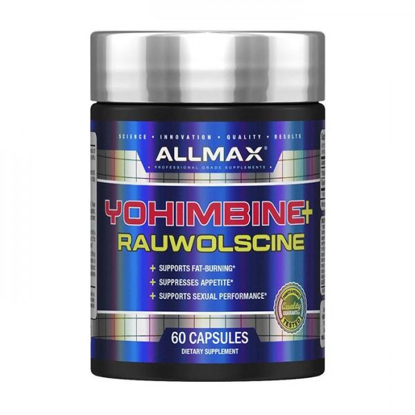 Yohimbine HCL + Rauwolscine, 3.5mg 60 caps