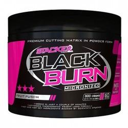 Stacker Black Burn Micronized 300g
