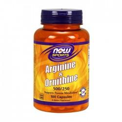 Arginine & Ornithine 100 caps