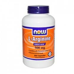 L-Arginine 500mg 250 caps