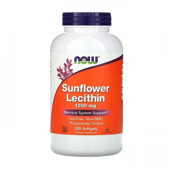 Sunflower Lecithin 1200mg 200 Softgels