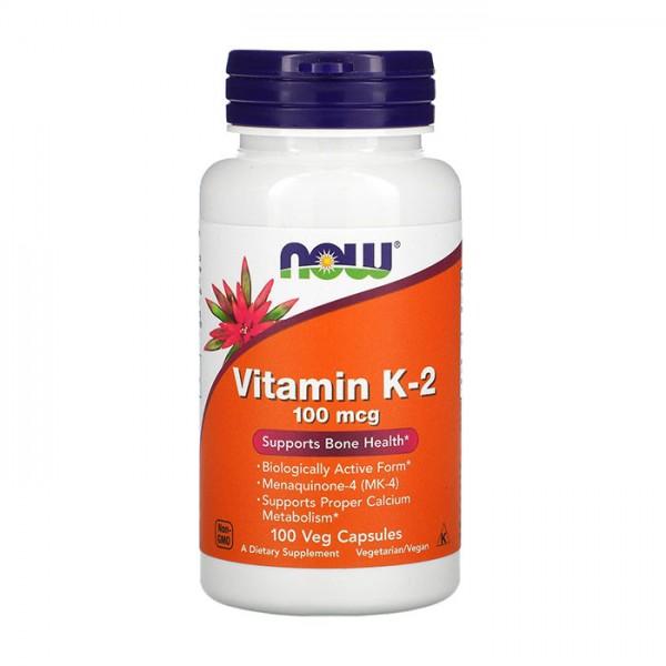 Vitamin K-2 100mcg 100 caps