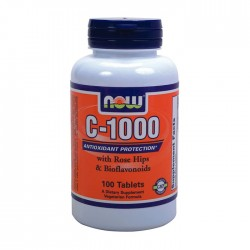 Vitamin C-1000 with rose hips 100 Tabs