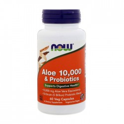 Aloe 10,000 & Probiotics 60 caps