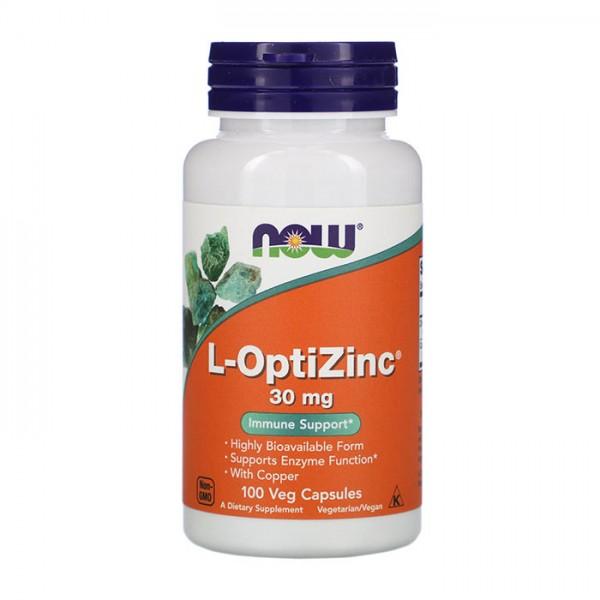 L-OptiZinc 30mg 100 caps