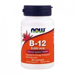 Vitamin B-12 5000mcg 60 tabs