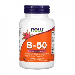 Vitamin B-50 (B-Complex) 100 caps